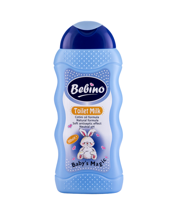 BEBINO Тоалетно мляко – Вълшебства за Бебета!