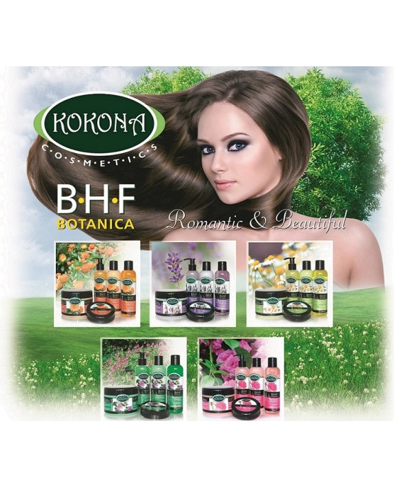BOTANICA B.H.F. Маска за коса Роза - силиконова – Зелено сияние на Вашето внимание!