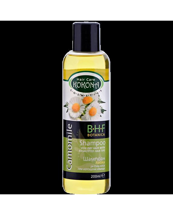 BOTANICA B.H.F. Шампоан Лайка - за суха коса – Зелено сияние на Вашето внимание!