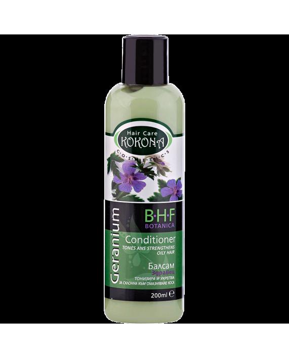 BOTANICA B.H.F. Балсам Здравец - за коса склонна към омазняване – Зелено сияние на Вашето внимание!