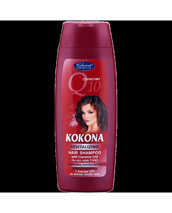 KOKONA Q10 Подхранващ шампоан за коса 200ml – Красота без граници!