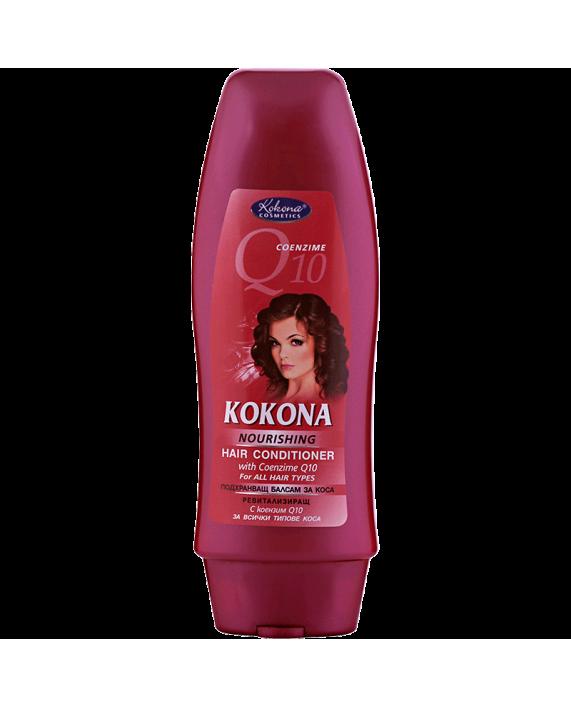 KOKONA Q10 Подхранващ балсам за коса – Красота без граници!