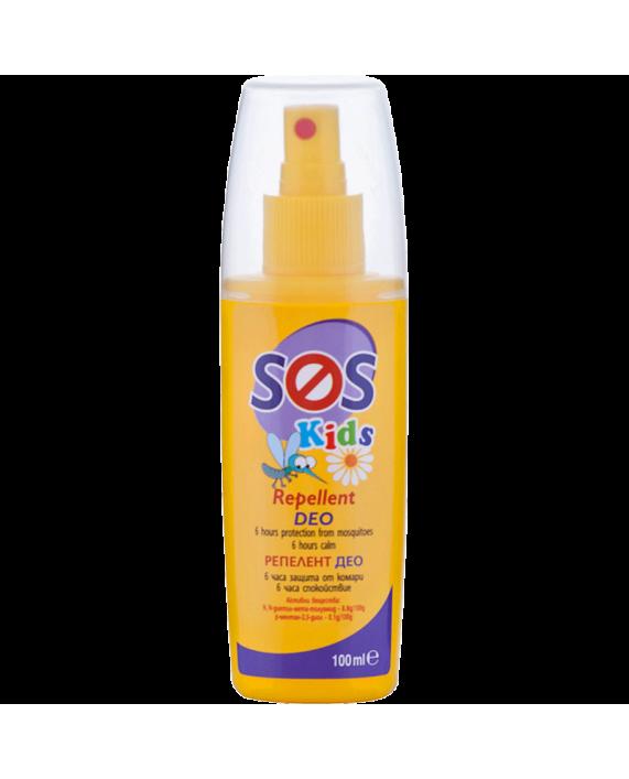SOS KIDS Репелент Део – Защита от комари, където и животът, да Ви свари!