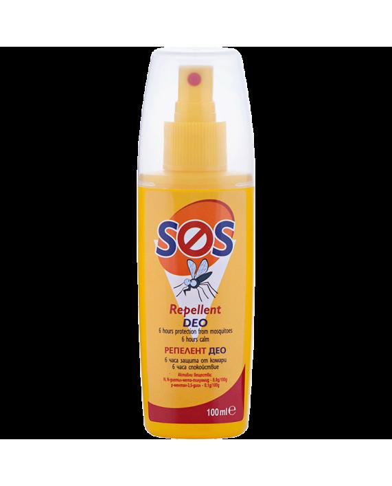 SOS Репелент Део – Защита от комари, където и животът, да Ви свари!