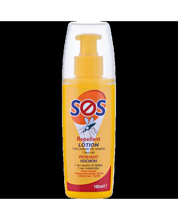 SOS Репелент Лосион – Защита от комари, където и животът, да Ви свари!